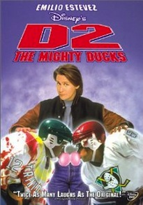 D2 Mighty Ducks DVD