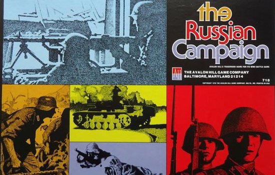 Russian Campaign board game