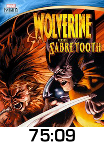 Wolverine vs Sabretooth DVD Review