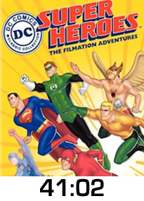 DC Super Heroes w time