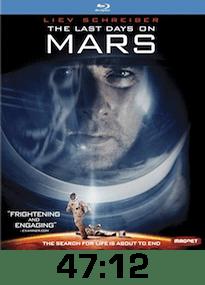 Last Days on Mars w time