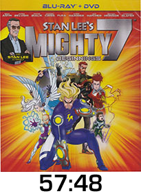 Stan Lee's Mighty 7 Blu-ray REview
