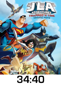 JLA Trapped in Time w time
