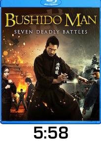 Bushido Man Bluray Review