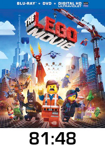 The Lego Movie Bluray Review