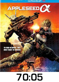 Appleseed Alpha Bluray Review
