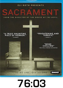 The Sacrament Bluray Review