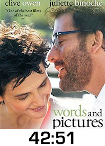 Words and Pictures DVD Review