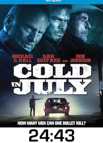 Cold in July Bluray Review