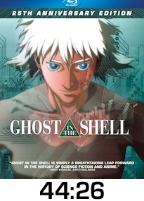 Ghost in the Shell Bluray Review