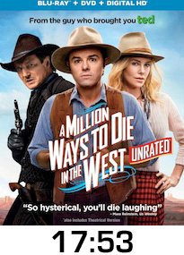 Million Ways to Die in the West Bluray Review