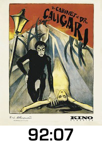 Cabinet of Dr Caligari Bluray Review