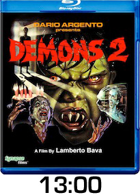 Demons 2 Bluray Review