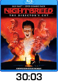 Nightbreed Directors Cut Bluray Review