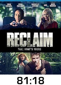 Reclaim Bluray Review