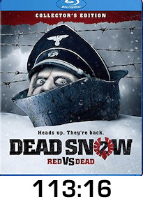 Dead Snow 2 Bluray Review