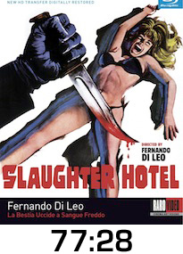 Slaughter Hotel Bluray Review