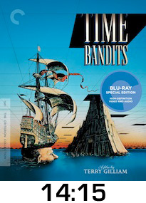 Time Bandits Bluray Review