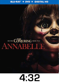 Annabelle Bluray Review