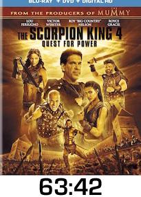 Scorpion King 4 Bluray Review