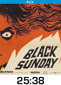 Black Sunday Bluray Review