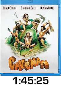 Caveman Bluray Review