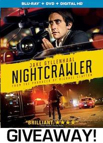 Nightcrawler Bluray Giveaway