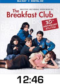 Breakfast Club Bluray Review