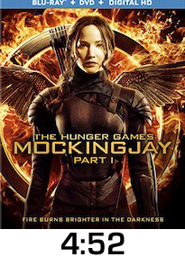 Hunger Games Mockingjay Part 1 Bluray Review