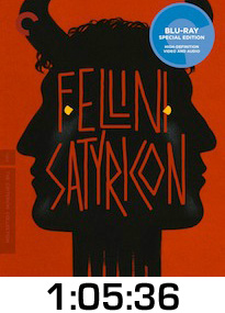 Satyricon Bluray Review