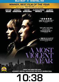A Most Violent Year Bluray Review