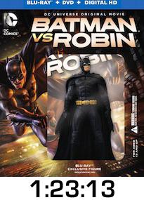 Batman vs Robin Bluray Review