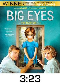 Big Eyes Bluray Review