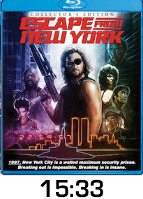 Escape From New York Bluray Review