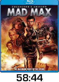Mad Max Bluray Review