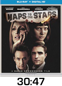 Maps to the Stars Bluray Review