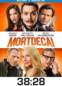 Mortdecai Bluray Review
