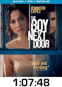 The Boy Next Door Bluray Review