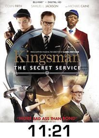 Kingsman Bluray Review