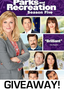 Parks and Rec Season Five DVD Giveaway Image