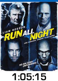 Run All Night Bluray Review