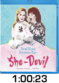 SheDevil Bluray Review