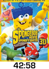 Spongebob The Movie Bluray Review