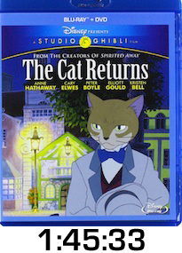 The Cat Returns Bluray Review