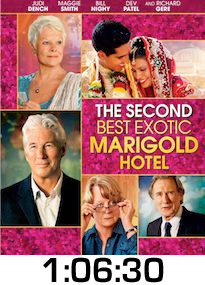 Second Best Exotic Marigold Hotel Bluray Review
