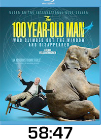 100 Year Old Man Bluray Review