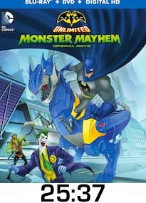 Batman Unlimited Monster Mayhem Bluray Review