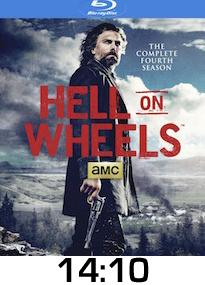 Hell on Wheels Season 4 Bluray Review