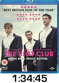 Riot Club Bluray Review