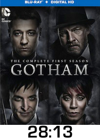 Gotham Season 1 Bluray Review